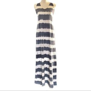 Calvin Klein tie dye maxi dress medium